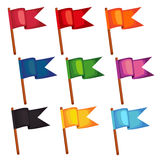 Διανυσματική απεικόνιση σημαιών Στοκ φωτογραφία με δικαίωμα ελεύθερης χρήσης