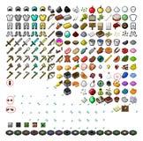 Διανυσματική απεικόνιση συνόλου εργαλείων Minecraft απεικόνιση αποθεμάτων