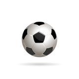 Διανυσματική απεικόνιση σφαιρών ποδοσφαίρου Στοκ φωτογραφία με δικαίωμα ελεύθερης χρήσης
