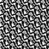 Διανυσματική απεικόνιση σχεδίων εικονοκυττάρου μονοχρωματική όμορφη άνευ ραφής απεικόνιση αποθεμάτων