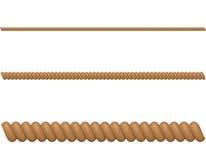 Διανυσματική απεικόνιση σχοινιών Στοκ φωτογραφία με δικαίωμα ελεύθερης χρήσης