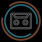 Διανυσματική απεικόνιση ταινιών κασετών διανυσματική απεικόνιση
