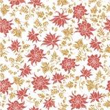 Διανυσματική απεικόνιση του άνευ ραφής ζωηρόχρωμου αφηρημένου σχεδίου λουλουδιών Στοκ εικόνα με δικαίωμα ελεύθερης χρήσης