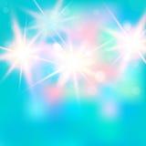 Διανυσματική απεικόνιση του λαμπρού φωτεινού φωτός abstract background blue lights Χρήσιμος για το σχέδιό σας Στοκ Φωτογραφίες