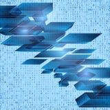 Διανυσματική απεικόνιση του αφηρημένου υποβάθρου υψηλής τεχνολογίας Στοκ Φωτογραφία