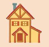 Διανυσματική απεικόνιση του σπιτιού Στοκ Φωτογραφία