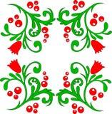Διανυσματική απεικόνιση του σχεδίου λουλουδιών στοκ φωτογραφίες