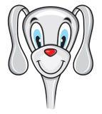 Χαριτωμένο αστείο σκυλί Στοκ Εικόνες