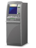 Διανυσματική απεικόνιση του ATM Στοκ Φωτογραφίες