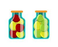 Διανυσματική απεικόνιση τροφίμων συντήρησης διανυσματική απεικόνιση