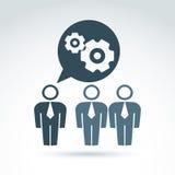 Διανυσματική απεικόνιση των εργαλείων - θέμα επιχειρηματικών συστημάτων, organiza Στοκ εικόνες με δικαίωμα ελεύθερης χρήσης