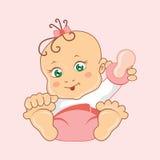 Διανυσματική απεικόνιση των μωρών απεικόνιση αποθεμάτων
