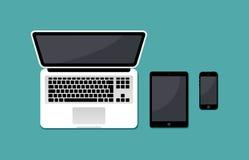 Διανυσματική απεικόνιση των στοιχείων χώρου εργασίας Διανυσματική απεικόνιση