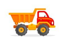 Διανυσματική απεικόνιση φορτηγών παιχνιδιών κινούμενων σχεδίων Στοκ Εικόνες