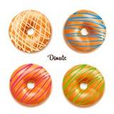 Διανυσματική απεικόνιση Donuts Στοκ Εικόνες
