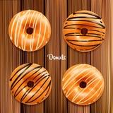 Διανυσματική απεικόνιση Donuts Στοκ Φωτογραφίες