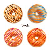 Διανυσματική απεικόνιση Donuts Στοκ Φωτογραφία