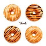 Διανυσματική απεικόνιση Donuts Στοκ φωτογραφία με δικαίωμα ελεύθερης χρήσης