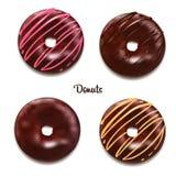 Διανυσματική απεικόνιση Donuts Στοκ εικόνες με δικαίωμα ελεύθερης χρήσης