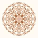 Διανυσματική απεικόνιση Mandala Στοκ Εικόνες