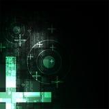 Διανυσματική αφηρημένη έννοια τεχνολογίας υποβάθρου Στοκ φωτογραφία με δικαίωμα ελεύθερης χρήσης
