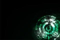 Διανυσματική αφηρημένη έννοια τεχνολογίας υποβάθρου Στοκ Εικόνα
