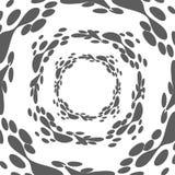 Διανυσματική αφηρημένη μορφή λάβας Στοκ Εικόνες