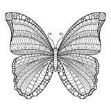 Διανυσματική αφηρημένη πεταλούδα διανυσματική απεικόνιση