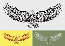 Διανυσματική γραφική διακόσμηση αετών Στοκ Εικόνες