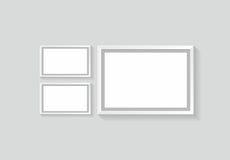 Διανυσματική εικόνα φωτογραφιών πλαισίων Στοκ Εικόνες