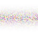 Διανυσματική εικόνα χρωματισμένα σημεία σε ένα άσπρο υπόβαθρο διανυσματική απεικόνιση