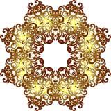 Διανυσματική εκλεκτής ποιότητας μορφή σχεδίων ενός κύκλου Περίκομψο στοιχείο για τα des Στοκ Φωτογραφία