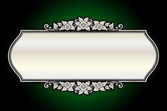 Διανυσματική εκλεκτής ποιότητας χάραξη πλαισίων συνόρων με το αναδρομικό διάνυσμα διακοσμήσεων Στοκ Εικόνες