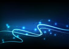 Διανυσματική επιστήμη στοιχείων επικοινωνίας τεχνολογίας υποβάθρου αφηρημένη Στοκ εικόνες με δικαίωμα ελεύθερης χρήσης