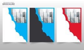 Διανυσματική ετήσια έκθεση Flayers προτύπων σχεδίου φυλλάδιων Στοκ Εικόνα