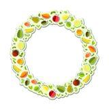 Διανυσματική ημέρα παγκόσμιας υγείας γραφικής παράστασης στα κατασκευασμένα γυαλιά υποβάθρου για το χυμό, χυμός, άχυρο, φρούτα, μ απεικόνιση αποθεμάτων