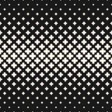 Διανυσματική ημίτοή σύσταση, μονοχρωματικό άνευ ραφής σχέδιο με το crosse Στοκ φωτογραφίες με δικαίωμα ελεύθερης χρήσης