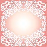 Διανυσματική διακόσμηση στο βικτοριανό ύφος Περίκομψο μπαρόκ στοιχείο για το δ Στοκ φωτογραφία με δικαίωμα ελεύθερης χρήσης