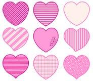 Διανυσματική κάρτα για την ημέρα βαλεντίνων ` s Με επιτρέψτε να σας αγαπήσω η σπασμένη καρδιά παραδίδει τα γάντια Στοκ Φωτογραφίες