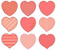 Διανυσματική κάρτα για την ημέρα βαλεντίνων ` s Με επιτρέψτε να σας αγαπήσω η σπασμένη καρδιά παραδίδει τα γάντια Στοκ φωτογραφίες με δικαίωμα ελεύθερης χρήσης