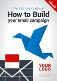 Διανυσματική κάλυψη eBook, βιβλίο, φυλλάδιο, πρότυπο ιπτάμενων στοκ φωτογραφία με δικαίωμα ελεύθερης χρήσης