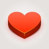 Διανυσματική καρδιά Στοκ εικόνα με δικαίωμα ελεύθερης χρήσης