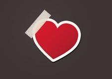 Διανυσματική καρδιά Στοκ Εικόνες