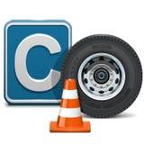 Διανυσματική κατηγορία Γ οχημάτων ελεύθερη απεικόνιση δικαιώματος