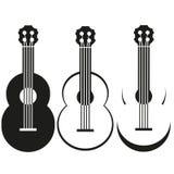 Διανυσματική κιθάρα Στοκ Εικόνες