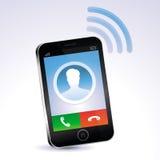 Διανυσματική κινητή τηλεφωνική κλήση Στοκ Εικόνα