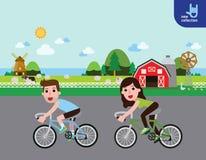 Διανυσματική κινούμενων σχεδίων σχεδίου έννοια υγείας εμβλημάτων infographic ελεύθερη απεικόνιση δικαιώματος