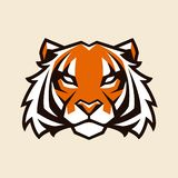 Διανυσματική μασκότ τιγρών στοκ φωτογραφία με δικαίωμα ελεύθερης χρήσης