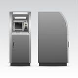 Διανυσματική μηχανή μετρητών τράπεζας του ATM που απομονώνεται Στοκ εικόνα με δικαίωμα ελεύθερης χρήσης
