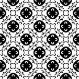 Διανυσματική μονοχρωματική σύσταση διακοσμήσεων Ασιατικό άνευ ραφής πρότυπο Στοκ εικόνα με δικαίωμα ελεύθερης χρήσης